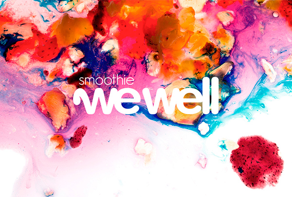 wewell smoothies corporativo e ilustracion
