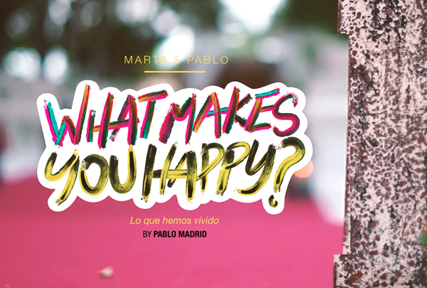 whats makes you happy promoción y publicidad